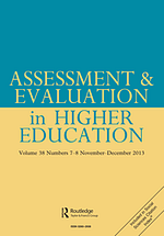 Assessment & Evaluation in Higher Education journal cover